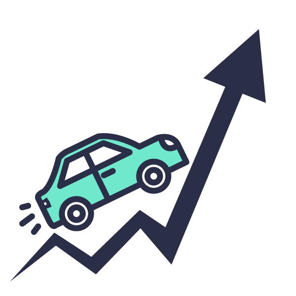 Driving Business Icon