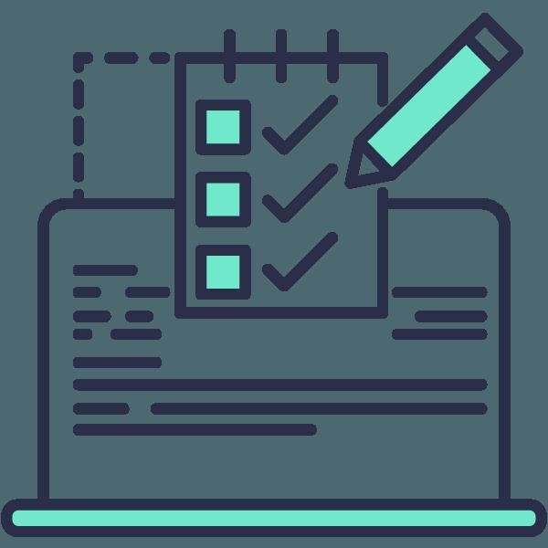 Pre-built online-forms